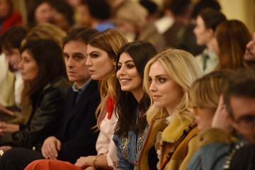Chiara Ferragni Philosophy - Front Row - Milan Fashion Week Fall/Winter 2020-2021