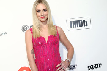 Chiara Ferragni IMDb LIVE Presented By M&M'S At The Elton John AIDS Foundation Academy Awards Viewing Party