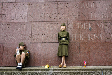 Chiara Germany Commemorates End of World War II