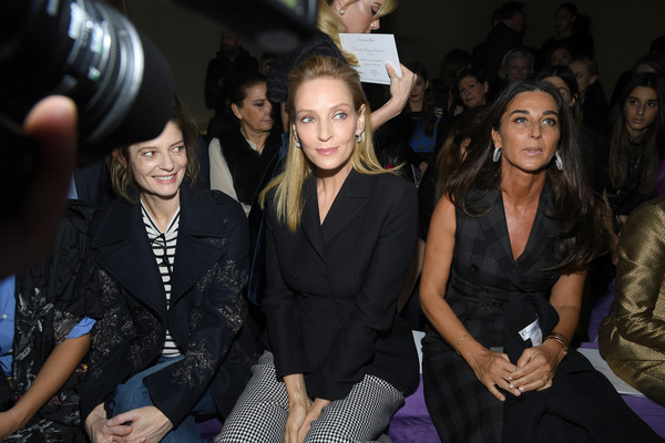 Dior: Front Row - Paris Fashion Week - Haute Couture Spring/Summer 2020