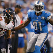 Calvin Johnson and Kyle Fuller Photos