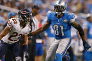 Calvin Johnson and Kyle Fuller Photos Photo