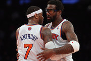 Amare Stoudemire and Carmelo Anthony Photos Photo