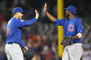 Dexter Fowler and Anthony Rizzo Photos Photo