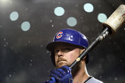 Jon Lester #34 of the Chicago Cubs waits to bat in the second inning against the Washington Nationals at Nationals Park on September 7, 2018 in Washington, DC.