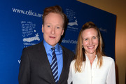 Conan O'Brien and Liza O'Brien Photos Photo