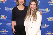 "Natalie Portman (L) and Danielle Fishel Karp attend Children's Hospital Los Angeles' 5th annual ""Make March Matter"" fundraising campaign kick-off at Childrens Hospital Of Los Angeles on March 02, 2020 in Los Angeles, California."