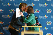 Chris Pine and Alex Carter attend the Children's Hospital Los Angeles fourth annual Make March Matter fundraising campaign kick-off event at Children's Hospital Los Angeles on March 04, 2019 in Los Angeles, California.