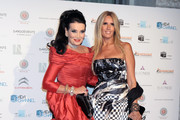 Tiziana Rocca and Lamia Khashoggi Photos Photo