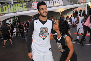 Chilli The Nike 3ON3 Celebrity Basketball Game