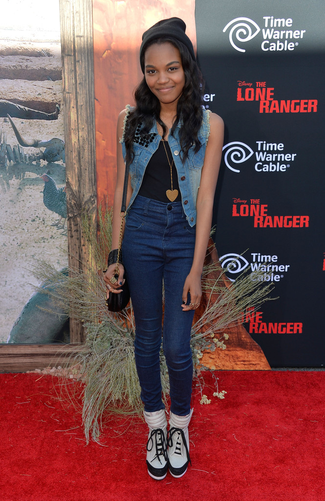"China Anne Mcclain - Premiere Of Walt Disney Pictures' ""The Lone Ranger"" - Arrivals"