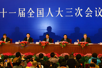 Xie Xuren China Holds Annual National People's Congress