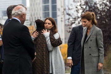 Chirlane McCray Argentinian President Macri Attends Tribute to NYC Terror Attack Victims