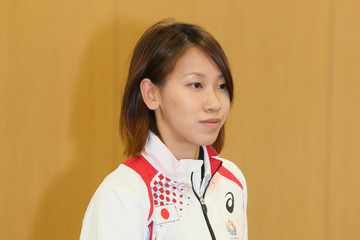 Chisato Fukushima IAAF World Championships Japanese Team Press Conference