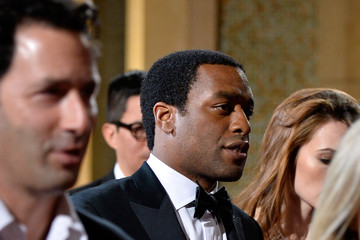 Chiwetel Ejiofor Stars Leave the Academy Awards