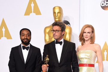 Chiwetel Ejiofor 87th Annual Academy Awards Press Room