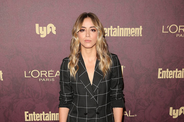 Chloe Bennet FIJI Water At Entertainment Weekly Pre-Emmy Party
