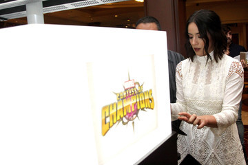 Chloe Bennet Marvel Contest of Champions at 'Marvel Agents of S.H.I.E.L.D.' Season 4 Premiere