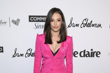 Chloe Bridges Marie Claire Celebrates Fifth Annual 'Fresh Faces' in Hollywood With SheaMoisture, Simon G. And Sam Edelman - Arrivals