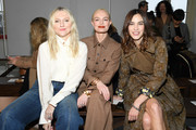 (EDITORIAL USE ONLY)  Kate Bosworth, Alexa Chung and a guest attend the Chloe show as part of the Paris Fashion Week Womenswear Fall/Winter 2020/2021 on February 27, 2020 in Paris, France.