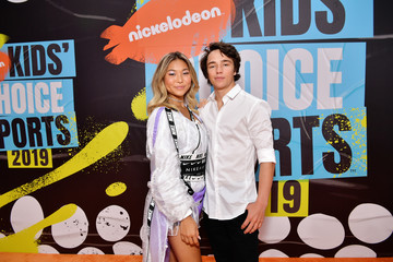 Chloe Kim Nickelodeon Kids' Choice Sports 2019 - Red Carpet