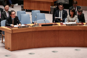 Cho Tae-Yul United Nations Security Council Meets on North Korea