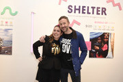 Josie Naughton and Chris O'Dowd attend Choose Love Launches In Los Angeles On Giving Tuesday on December 3, 2019 in Los Angeles, California.