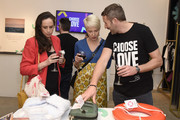 Chris O'Dowd and guests attend Choose Love Launches In Los Angeles On Giving Tuesday on December 3, 2019 in Los Angeles, California.