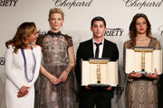 Logan Lerman and Adele Exarchopoulos Photos Photo