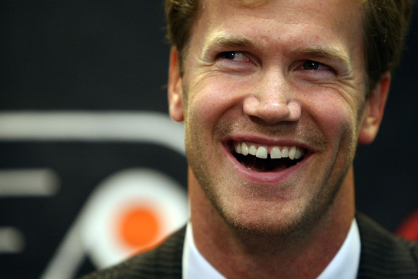 chris pronger contract history of christmas