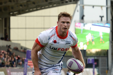 Chris Ashton Sale Sharks v Connacht Rugby - European Challenge Cup