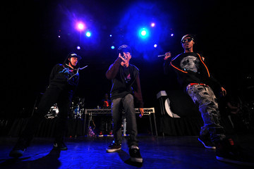 Legacy Chris Brown, Ben J And Legacy And The New Boyz Perform At The Avalon