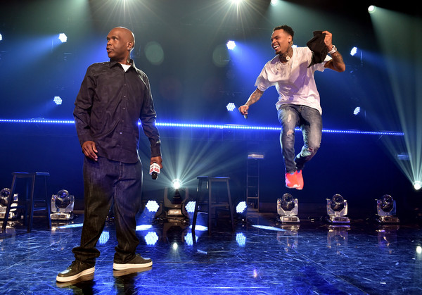 Chris Brown For iHeartRadio Live With Special Guest T.I. [performance,entertainment,performing arts,music artist,event,stage,performance art,public event,talent show,music,chris brown,big boy,iheartradio live with special guest t.i.,guest,iheartradio theater,los angeles,iheartradio theater los angeles,burbank,california,l]