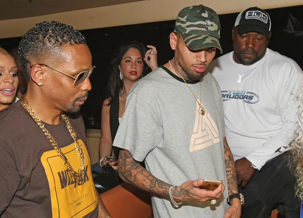 WizPak Launch Party Hosted By Chris Brown