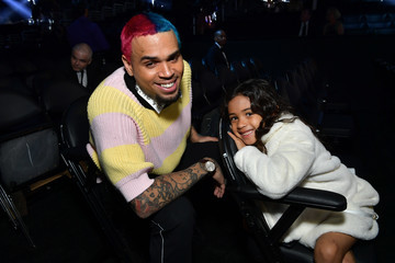 Chris Brown 62nd Annual GRAMMY Awards - Inside