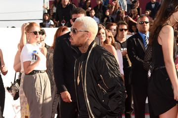 Chris Brown Arrivals at the MTV Video Music Awards — Part 2