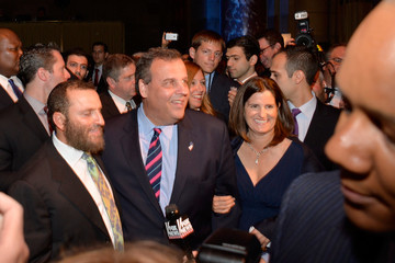 Chris Christie Mary Pat Foster This World Jewish Values Network Second Annual Gala Dinner