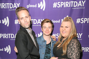 Chris Colfer Ashley Fink Justin Tranter And GLAAD Present 'Believer' Spirit Day Concert