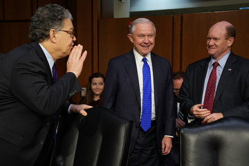 Chris Coons AG Jeff Sessions Testifies Before The Senate Judiciary Committee