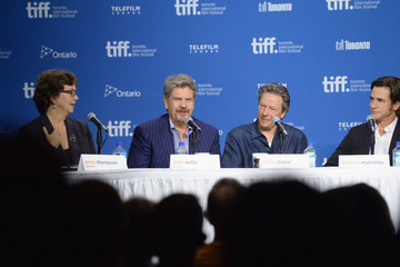 Chris Cooper Dermot Mulroney 'August: Osage County' Press Conference in Toronto