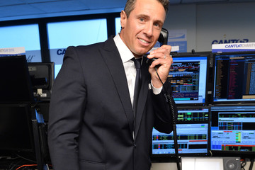 Chris Cuomo Annual Charity Day Hosted By Cantor Fitzgerald, BGC and GFI - Cantor Fitzgerald Office - Inside