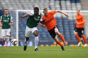 Chris Erskine Hibernian v Dundee United - William Hill Scottish Cup Semi Final
