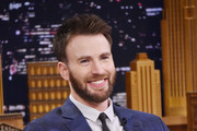 Chris Evans Visits 'The Tonight Show Starring Jimmy Fallon'