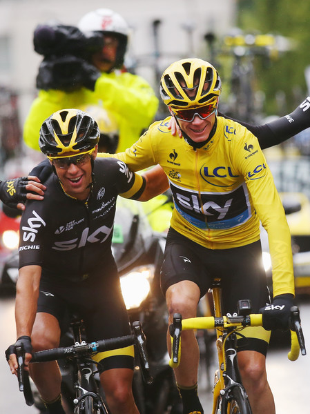 Chris froome and richie porte photos photos zimbio for Richie porte tour de france