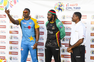 Chris Gayle St Lucia Stars vs. St Kitts And Nevis Patriots - 2018 Hero Caribbean Premier League (CPL) Tournament