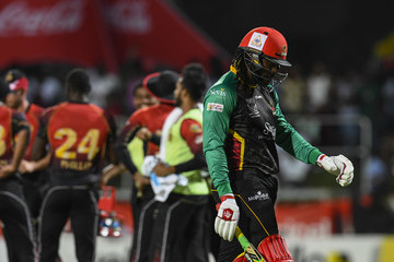 Chris Gayle St Kitts & Nevis Patriots vs. Trinbago Knight Riders - 2018 Hero Caribbean Premier League (CPL) Tournament