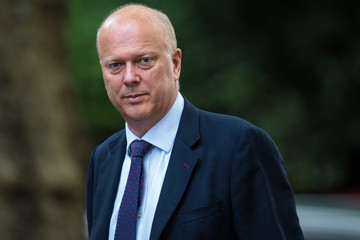 Chris Grayling New Government Ministers Meet For Cabinet