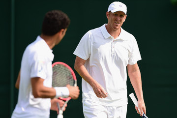 Chris Guccione Day Four: The Championships - Wimbledon 2015