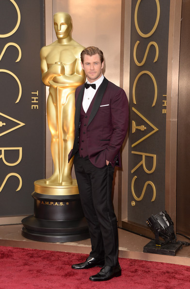 Chris Hemsworth - Arrivals at the 86th Annual Academy Awards — Part 14