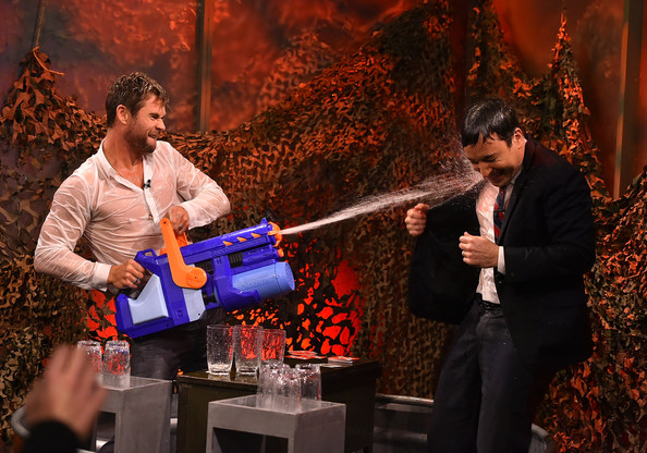 Chris Hemsworth - Chris Hemsworth Visits 'The Tonight Show'